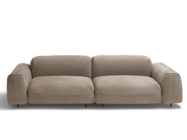 Sectional modular leather sofa TOKIO SOFT