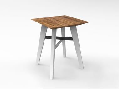 Walnut stool TOKYO | Stool