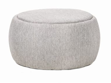 Storage garden pouf with removable cover TONO