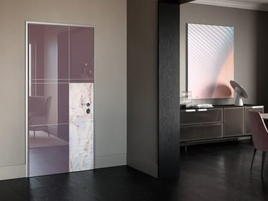 Safety door with concealed hinges TOP 2040