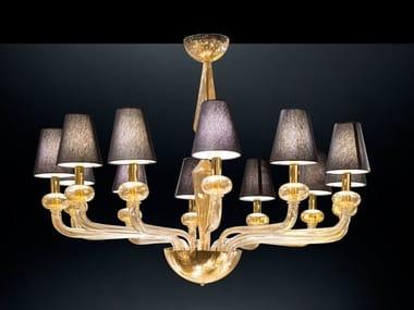 Murano glass chandelier TORCELLO