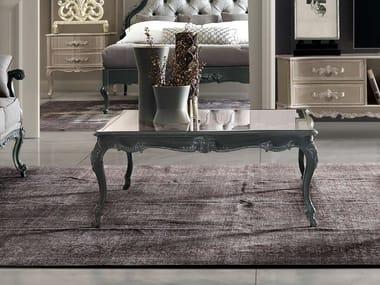 Square glass coffee table TORNABUONI | Square coffee table