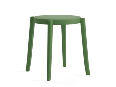 Low stackable polypropylene stool TORRE S