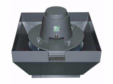 Aspiratore centrifugo da tetto per estrazione fumi caldi TORRETTA TRT 100 ED-V 8P