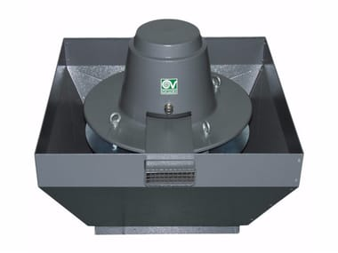 Aspiratore centrifugo da tetto per estrazione fumi caldi TORRETTA TRT 150 ED-V 8P