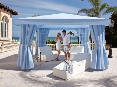 Gartenpavillon aus Acrylgewebe TOSCANA