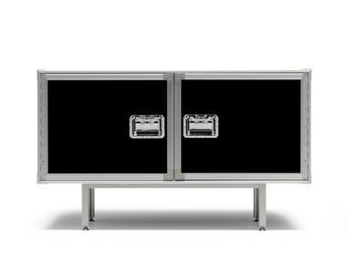Mobile contenitore in estruso di alluminio e multistrato TOTAL FLIGHTCASE