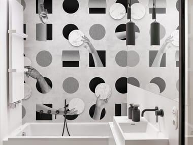 Bathroom wallpaper TOUCHE