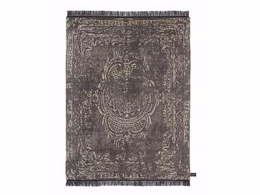 Handmade custom rug TRACES D'AUBUSSON FULL ALOE