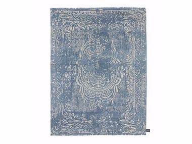 Handmade custom rug TRACES D'AUBUSSON FULL ICE
