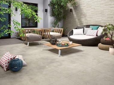 Pavimento/rivestimento in gres porcellanato effetto pietra TRACKS