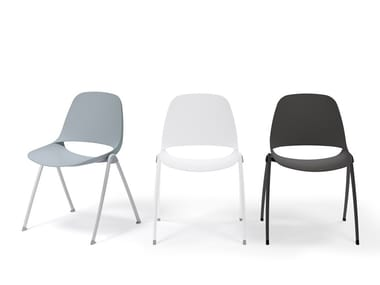 Stackable chair ECLIPSE | Stackable chair