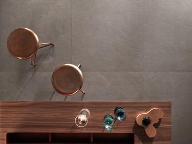 Full-body porcelain stoneware flooring TRAME PLASTER TORTORA