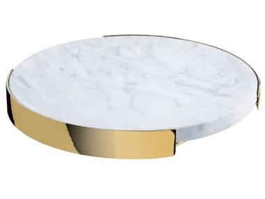 Round marble tray Round tray