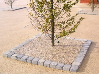 Draining resin Outdoor continous flooring TREE PITS