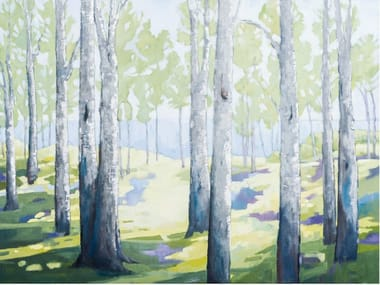 Canvas Painting Trees
