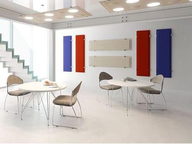 Fabric Decorative acoustic panel TRÈS | Fabric Decorative acoustic panel