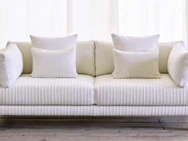 Solid-color upholstery fabric TRESSE DE LAINE