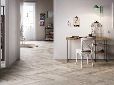 Pavimento in gres porcellanato effetto legno TREVERKMADE
