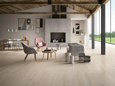 Pavimento in gres porcellanato effetto legno TREVERKTREND