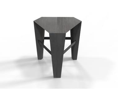 Oak stool TRIS | Stool