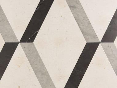 Indoor slate wall/floor tiles TRIDIMENSIONALE