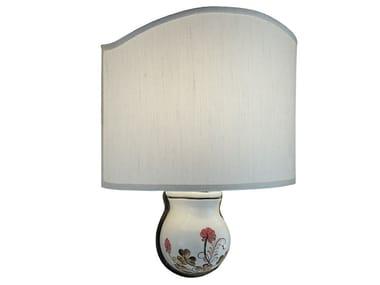 Applique a luce radente in ceramica TRIESTE | Applique