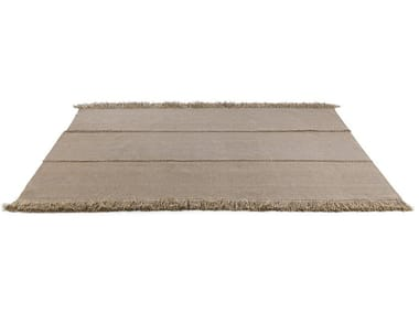 Handmade rectangular outdoor rugs TRIPTYQUE