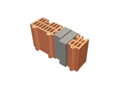Thermal insulating clay block TRIS® 48X12X19
