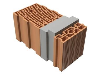 Thermal insulating clay block TRIS® 51X25X25