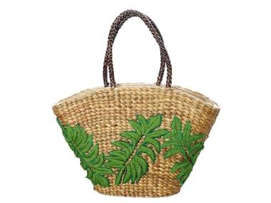 Natural fibre bag TROPICAL