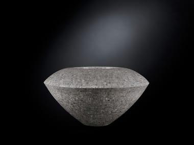 LDPE vase TROTTY MOSAICO BISAZZA
