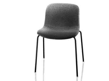 Upholstered fabric chair TROY   Fabric chair