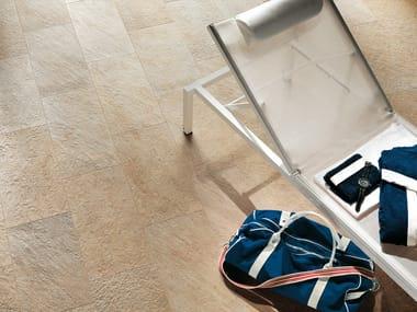 Pavimento per esterni in gres porcellanato effetto pietra TRUST | Pavimento per esterni in gres porcellanato