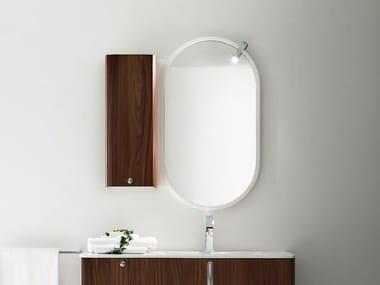 Oval framed wall-mounted mirror TU