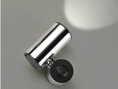 Spot LED de parede ajustável de aço inox TUB LED 6510