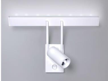 Luminária de parede / spot de aço inox TUB LED 6513