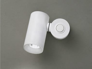 Spot LED de parede ajustável de aço inox TUB LED 6511