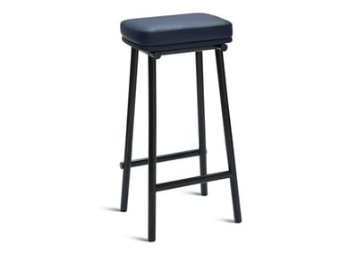 High stool with integrated cushion TUBBY TUBE | High stool