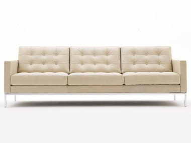 Tufted 3 seater sofa FLORENCE KNOLL RELAX | Tufted sofa