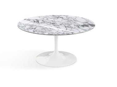 Round marble coffee table TULIP | Round coffee table