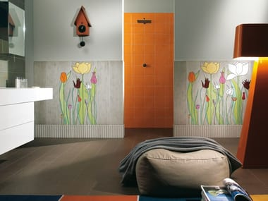 Indoor ceramic wall tiles TULIPANI