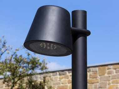 LED aluminium street lamp on pole TUMBLER | Street lamp on pole