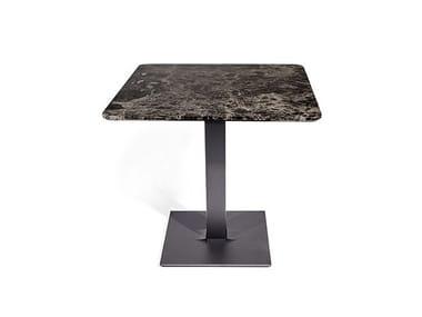 Base per tavoli in acciaio verniciato a polvere TUXEDO LOW | Base per tavoli
