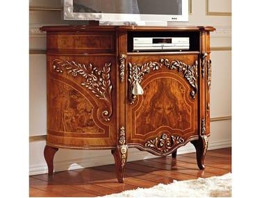 Low wood veneer TV cabinet REGGENZA LUXURY   TV cabinet