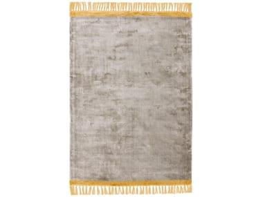 Hand-loomed rugs TWIST OCHRE