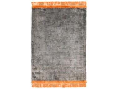 Hand-loomed rugs TWIST ORANGE