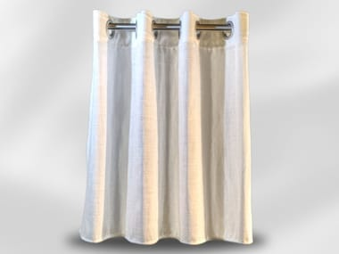 Solid-color fabric curtain UDINE