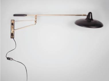 Lampada da presa orientabile in metallo UFO - S3030 | Lampada da presa