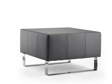 Leather pouf / coffee table ULTIMO